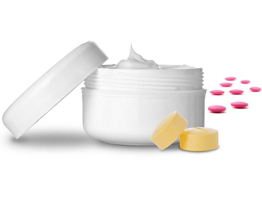 Creams and Tablets
